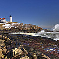 Nubble Light  by Joann Vitali