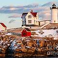 Nubble Light York Maine by Dawna Moore Photography