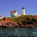 Nubble Lighthouse-cape Neddick by Kathleen Struckle