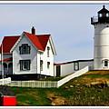 Nubble Lighthouse by Caroline Stella