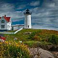 Nubble Lighthouse by Fred LeBlanc