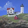 Nubble Lighthouse by Jerry McElroy