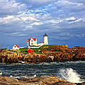 Nubble Lighthouse by Karen Winterholer