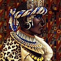 Nubian Prince by Jane Whiting Chrzanoska