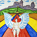 Nude Angel Road by Stormm Bradshaw