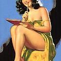 Nude Brunette II by Studio Artist