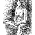 Nude Female Sketches 2 by Gordon Punt