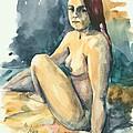 Nude II by Elisabeta Hermann