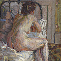 Nude On A Bed, C.1914 by Harold Gilman