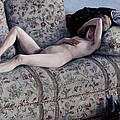 Nude On A Couch by Gustave Caillebotte