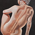 Nude On A Pedestal by Don Martinelli