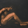 Nude Sitting by L Cooper