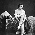 Nude Undressing, C1850 by Granger