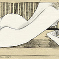 Nude With Broken Wrist by Ch' Brown