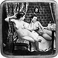 Nudes Having Tea, C1850 by Granger