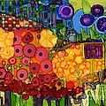 Number Viiii by Vicki Baun Barry