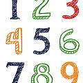 Numbers 123 by Jaime Friedman
