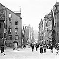Nuremberg Street Scene 1903 Vintage Photograph by A Gurmankin