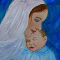 Nurturing Love Of A Mother  by The Art With A Heart By Charlotte Phillips