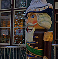 Nutcracker Statue In Downtown Grants Pass by Mick Anderson