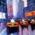 Ny Cabs 1 by Tony Gittins