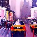 Ny Cabs2 by Tony Gittins