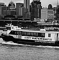 Ny Waterway Ferry Douglas B Gurian From New Jersey To New York City by Joe Fox