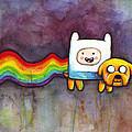 Nyan Time by Olga Shvartsur