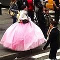 Nyc Ball Gown Walk by Susan Garren