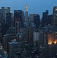 Nyc Chrysler Building by Joseph Semary