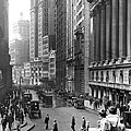 Nyc Financial District by Underwood Archives