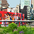 Nyc-high Line Billboard Art by Regina Geoghan