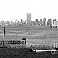 Nyc In The Distance 1990s by John Rizzuto