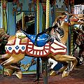 Nyc - Old Glory Pony by Richard Reeve