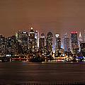 Nyc Skyline by Rick Kuperberg Sr