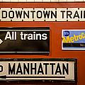 Nyc Subway Signs by Susan Candelario