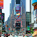 New York City Times Square by Tap On Photo