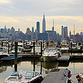 Nyc View From Lincoln Harbor Weehawkin Nj by Bill Cannon