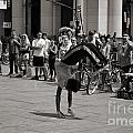 Nycity Street Performer by Angela DeFrias