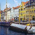 Nyhavn Boat Docks by Bob Phillips
