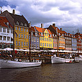Nyhavn Copenhagen by Sally Weigand