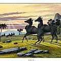 Nylghau by Splendid Art Prints