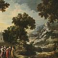 Nymphs Turning The Apulian Shepherd Into An Olive Tree by Celestial Images