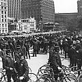 Nypd Bicycle Force by Underwood Archives