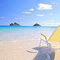 Oahu Lanikai Beach by Bill Brennan - Printscapes