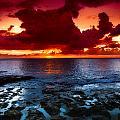 Oahu Sunset by Harry Spitz