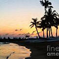 Oahu Sunset by Jon Burch Photography