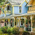 Oak Bluffs Cottages by Susan Cole Kelly