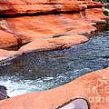 Oak Creek At Slide Rock by Carol Groenen