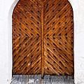 Oak Double Door by Les Palenik